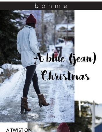A blue (jean) Christmas