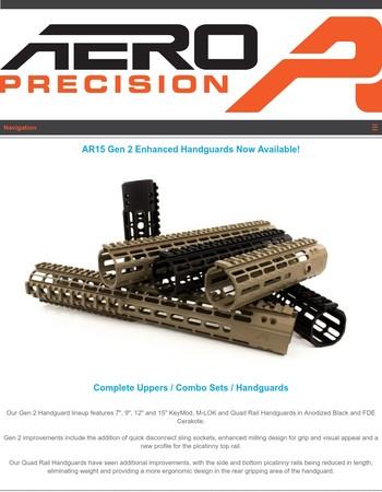 AR15 Gen 2 Enhanced Handguards Now Available!