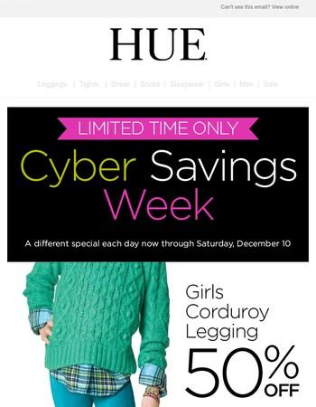 Two more days to enjoy Cyber Savings Week