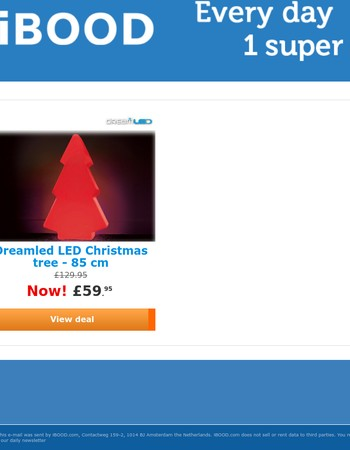Dreamled LED Christmas tree - 85 cm»Now!£59.95
