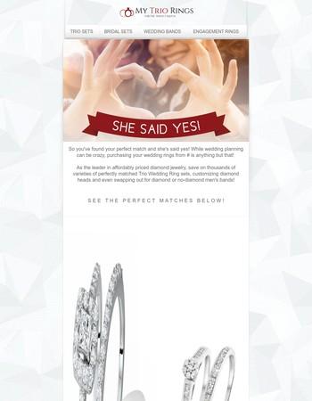 She Said YES! >