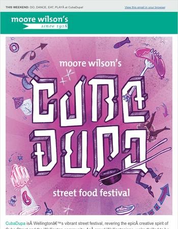 Moore Wilson's Street Food Festival at CubaDupa