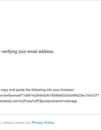 Verify your Autodesk account