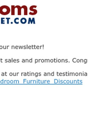 Thanks for Subscribing to Dining Rooms Outlet Newsletter