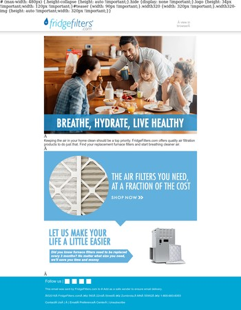 Keep the Air in Your Home Clean