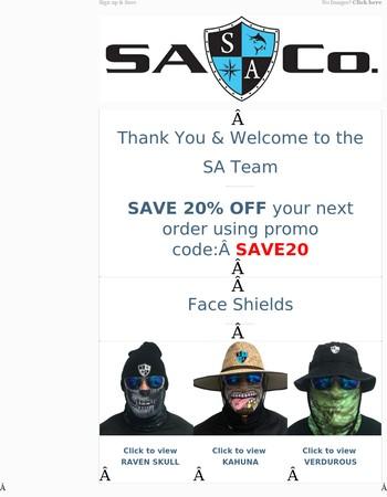 SA Co: Thank You and SAVE