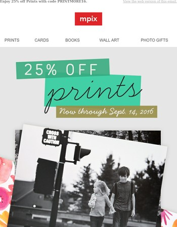 25% off Prints   All Sizes Included
