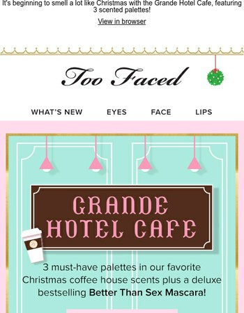 Meet me at the Grande Hotel Cafe