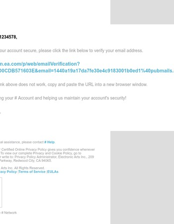 Verify Your Account Email