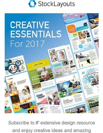 Creative Essentials for 2017