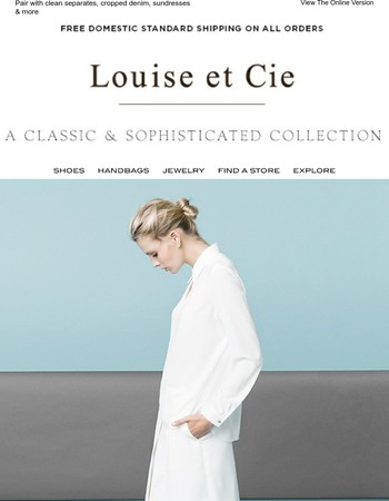 Louise et Cie on dressing for a new season