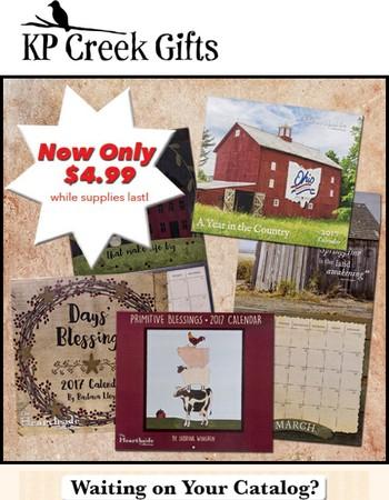 Calendar Blowout Sale!