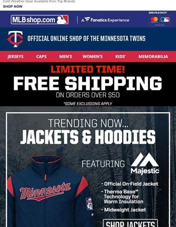 Shut Down Winter w/ Free Shipping on Jackets & Hoodies!