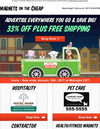 Sale Alert: 33% OFF Plus FREE Shipping!
