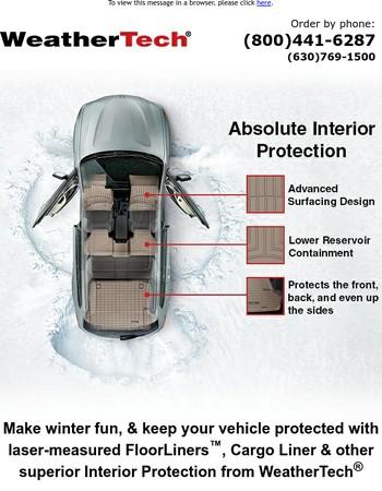 Make Winter Fun With WeatherTech ☃