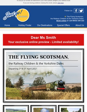 The Flying Scotsman - Available Now!