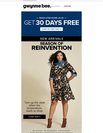 New Arrivals: Reinvent your wardrobe