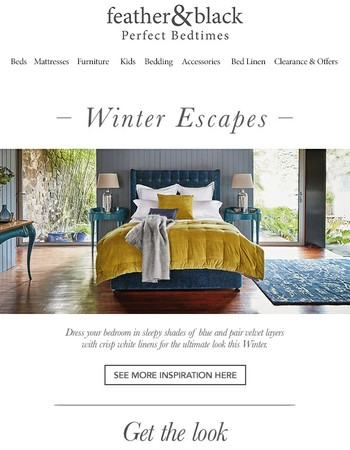 Build your bedroom nest this Winter