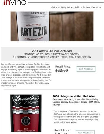 Holy $#!# - This Old Vine Mendo ZIN Kills It! (Wholesale)