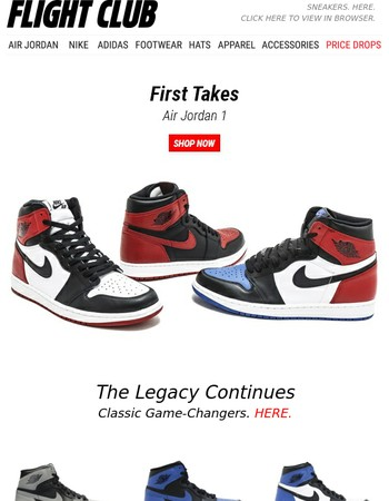 The Legacy Continues: The Air Jordan 1