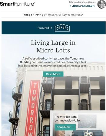 Micro-Lofts: the Tiny Homes of the City