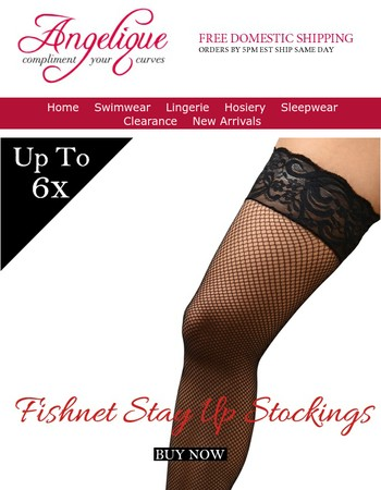 Back In Stock- Our Popular Fishnet Stockings