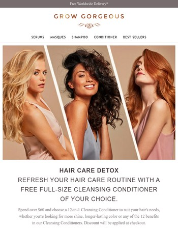 What's free, full-size & full of Gorgeous benefits?