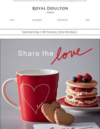 Share the love ❤ | Valentine's Day 14th February