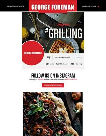 George Foreman Grills is on Instagram!