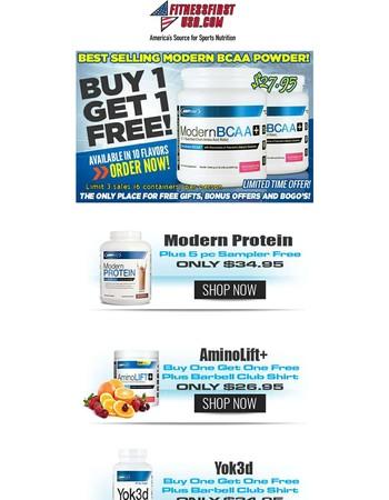 USP Labs Modern BCAA BOGO - Fitness First USA