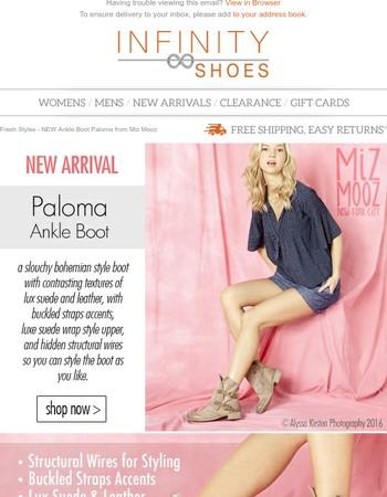 Fresh Styles - NEW Ankle Boot Paloma from Miz Mooz