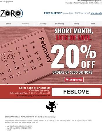 Zoro Tools Newsletter