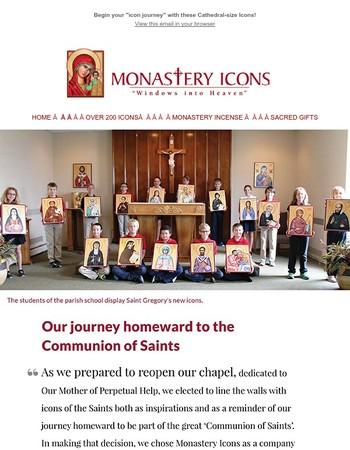 "Father Tom describes his parish's ""icon journey"""