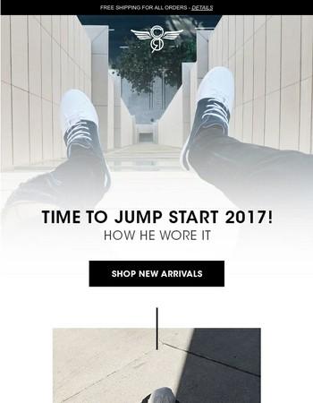 New Year, New Gear. Jump Start 2017!