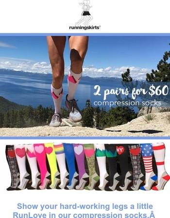 Compression Sock Sale is Back