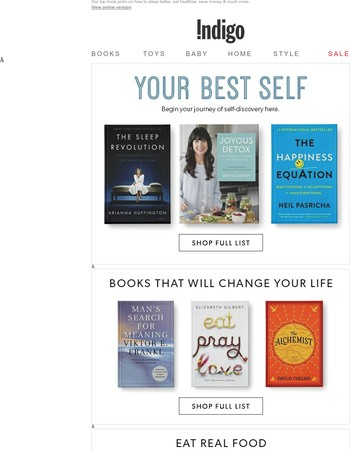 Inspiring Books For A Healthier, Wealthier & Happier You