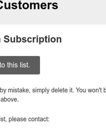 DeFeet.com Customers: Please Confirm Subscription