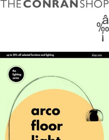 The Conran Shop Lighting Series | Arco Floor Light