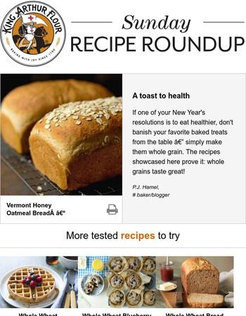 Sunday recipe roundup: healthier baking