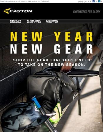 New Year. New Gear.
