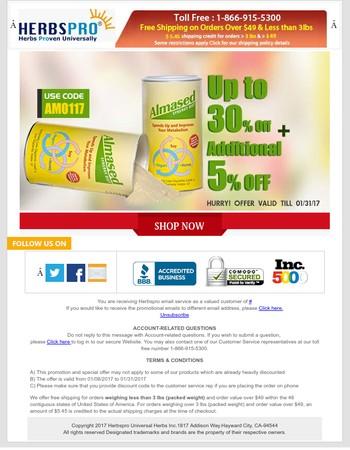 Huge Sale on Almased - Up to 30% Off, Additional 5% OFF