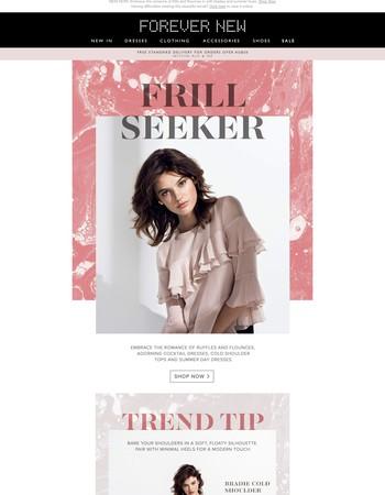 Frill Seeker | The Romantic Trend
