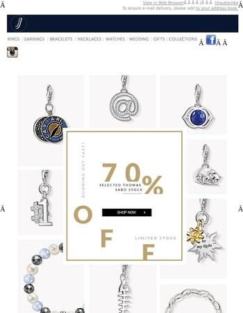 THOMAS SABO Super Sale | 70% Off!