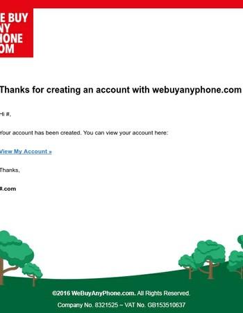 Seller account created