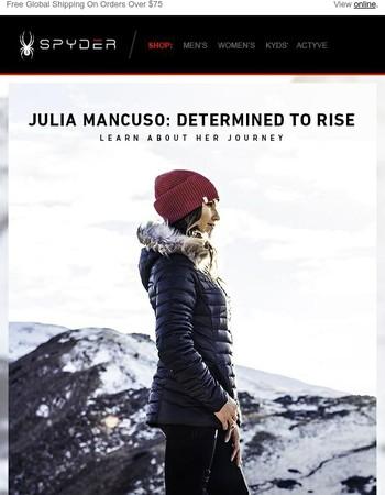 Julia Mancuso: Determined To Rise