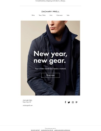 New year, new gear.