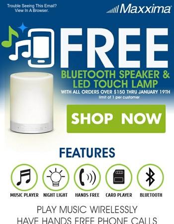 undefined, Get Your Free Bluetooth Speaker!