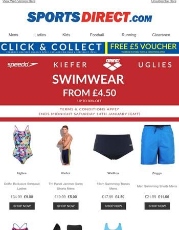 Swimwear & Accessories Flash Sale | Speedo, Arena and More!