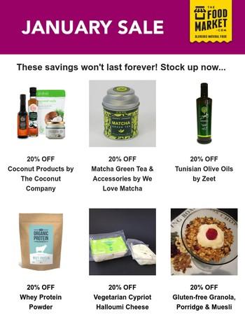 20% savings, 100% taste!