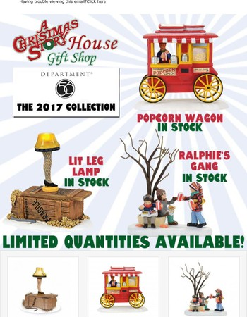 2017 A Christmas Story Village Department 56 Is Here!